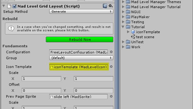 Creating customized icons
