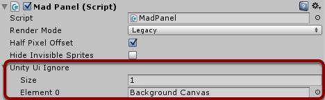 Integration with Unity UI (uGUI)