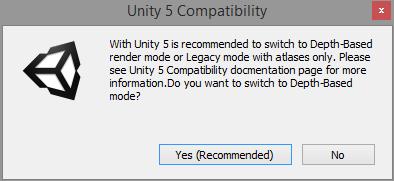 Unity 5 compatibility